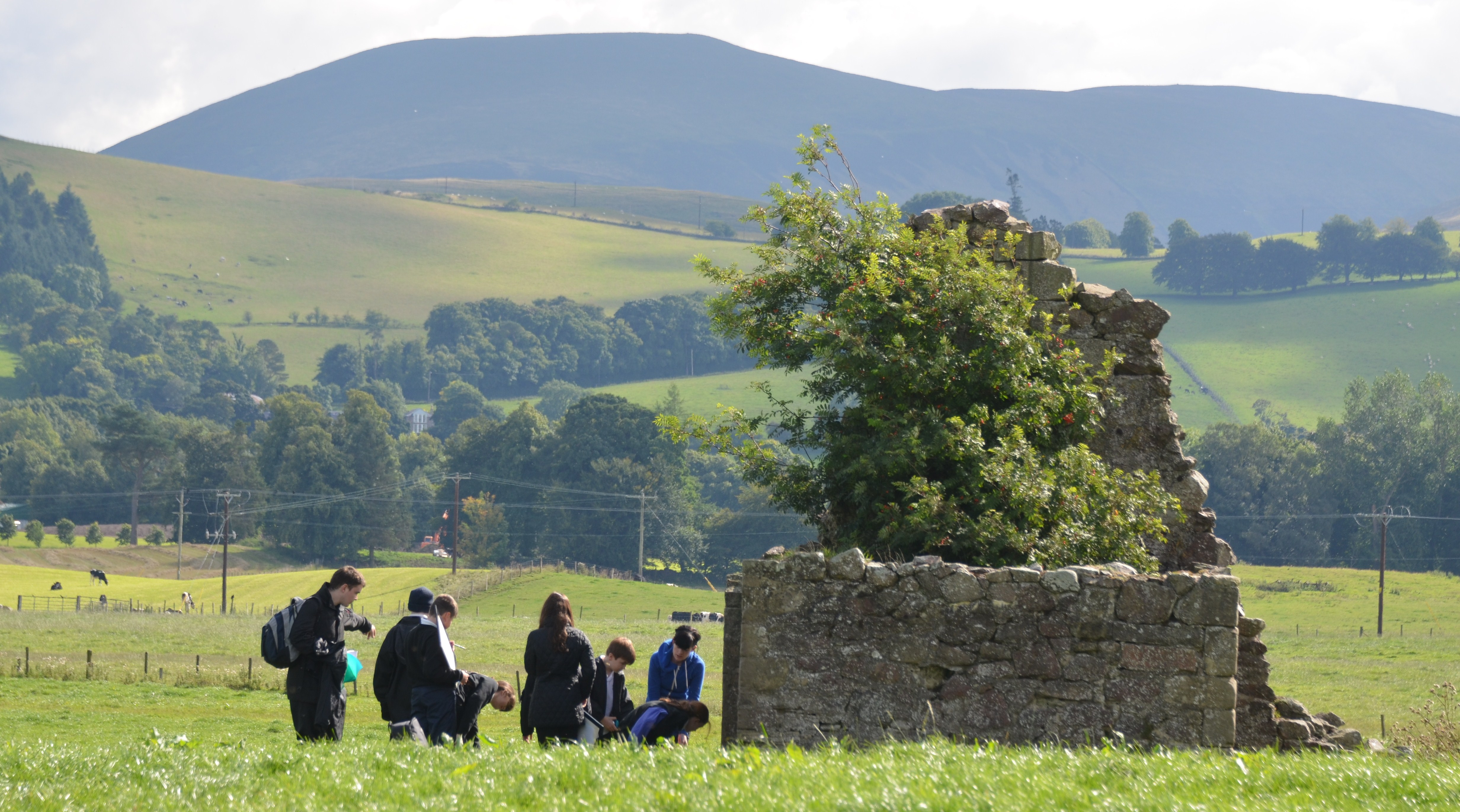 Giving pupils the opportunity to explore their local historic environment