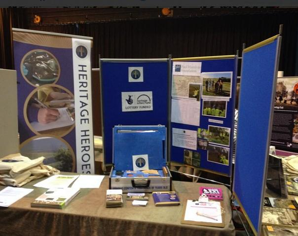 The @BordersHeritage forum was launched at Scotland's Community Heritage Conference 2014, in Crieff.