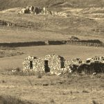 image of ruined crofting house